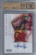 2012-13 Kyrie Irving Panini Contenders Auto RC... BGS 9.5 w/two 10 subs & auto