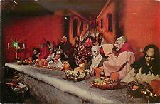 Chrome Postcard; Demon's Table, Movie World, Buena Park, CA Unposted