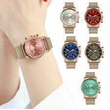 Women Ladies Cute Watch Stainless Steel Analog Quartz Dress Bracelet Wrist Watch