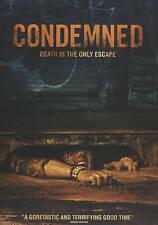 HALLOWEEN HORROR SALE! Condemned DVD Dylan Penn, Ronen Rubinstein NEW SEALED!