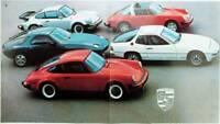 Porsche 911 Turbo, 911 SC, 928, 924 von Gesamt- Prospekt brochure 1978
