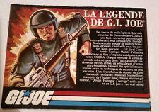Gi joe   french booklet catalog 1982
