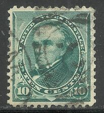 U.S. Postage stamp scott 226 - 10 cent Webster issue of 1890