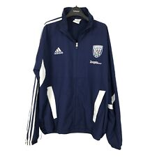 Adidas Blue Size 44-46 West Bromwich Albion Tracksuit Top Jacket