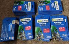 Lycamobile NL Prepaid Sim Karte + €10* 3 in 1- Anonym & Aktif Keine ID benötigt