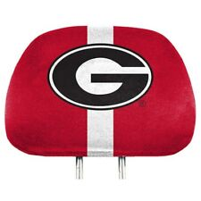 Georgia Bulldogs Printed Head Rest Covers