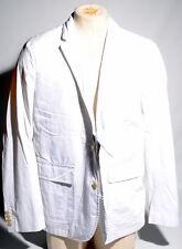 Polo Ralph Lauren Chino Light Weight White Blazer Sport Coat Pima 44R $295 R1