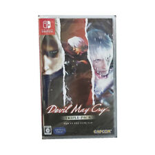 Devil May Cry Triple Pack Nintendo Switch 2020 Chinese Japanese Factory Sealed
