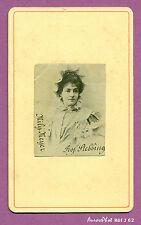 CDV STEBBING : MILY MEYER CHANTEUSE FRANÇAISE SOPRANO OPÉRA THÉÂTRE ,1880-J62