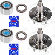 FRONT WHEEL HUB & NSK BEARING W/SEAL FOR 2001-2005 LEXUS IS300 PAIR FAST SHIPNG