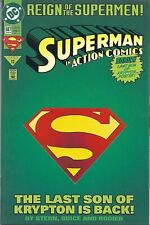 Action Comics #687 - Jun/93 - Deluxe Edition - Reign of the Supermen!