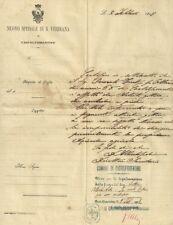 Lettera su Carta Intestata Nuovo Spedale di S. Verdiana Castelfiorentino 1918