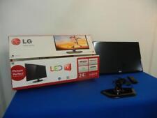 "New listing Lg 24"" Flat Screen T.V. w/Remote - No Shipping! Lot 33C"