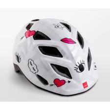 Childrens cycle helmet MET Genio White Patchwork 52-57cm