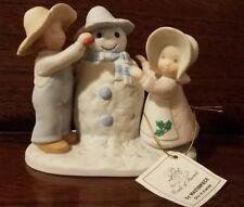 "Circle of Friends Children Figurine ""Snow Play"", Masterpiece 1991"