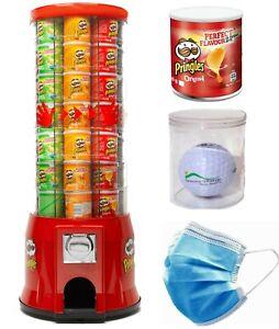 Snack Automat Warenautomat Verkaufsautomat Pringles Chips CORONA Maskenautomat