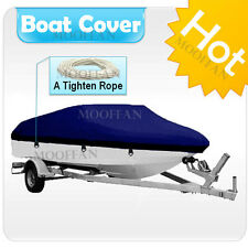 17 ft - 19 ft UV Protection Waterproof Boat Cover Fishing Ski Bass V-hull MBT2N