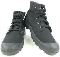 Palladium Women's Black Lace Up Ankle Chukka Boots Sz 8.5