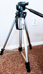 "Mx 2000 tripod Full Size 61"" adjustable legs, and bubble levelers"
