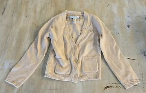 Abercrombie And Fitch Brown Sweater Kids Boys XS Wool Cashmere & Nylon