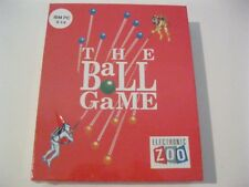 "The Ball Game new sealed PC game 5.25"" disks Electronic Zoo 1991"