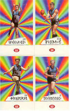 POPULAR-1997 AFL Stickers Stand Up Card Team Set P. Adelaide (4)