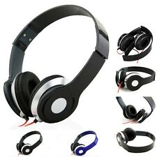 NEW HEADPHONE DJ STEREO FOLDABLE HEADSET EARPHONE OVEREAR MP3 IPOD 3.5MM