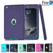 """Heavy Duty Shockproof Case Cover For New iPad 6th Gen 9.7"""" iPad 4 3 2 mini Air"""