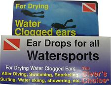 Swimmers Ear Solution for Scuba Diving and Snorkeling First Aid FA20