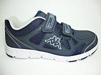 194ffd77a523b KAPPA VAPORAL V KID scarpe donna blu sneakers ginnastica running sportive  sport