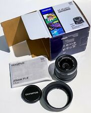 Olympus Digital 25mm f1.8 M.Zuiko MSC Lens 25/1.8Black