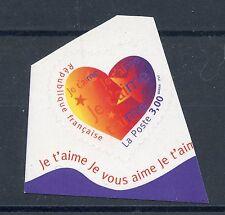 STAMP / TIMBRE FRANCE NEUF N° 3220 ** SAINT VALENTIN /  JE T'AIME / ADHESIF