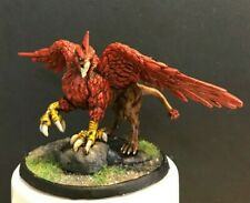 Nolzur's Griffon 28mm Painted Miniature Dungeons and Dragons Flying Mount