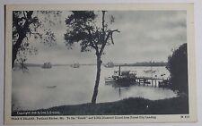 1930'S Postcard New England Hurricane 1938 Cottage Blown Under Bridge Cap Cod Ma