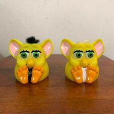 Vintage 1998 Furby Mcdonalds Squeak and Blink Yellow Tiger Electronics