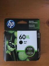 GENUINE HP 60XL HIGH YIELD BLACK INK CARTRIDGE