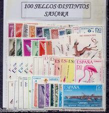 B-D-M Sahara Lote 100 Sellos Diferentes Nuevos