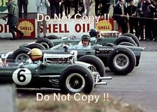 Jim Clark & Graham Hill & Mike Spence South African Grand Prix 1965 Photograph