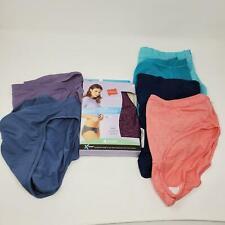 Hanes Bikini Panty Underwear Size 8 XL Microfiber Cool & Comfortable 10 Pairs