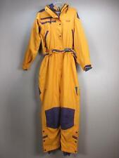 Mountain Hardwear Size 12 Womens Orange One-Piece Jumpsuit Ski Snowsuit Bib 934