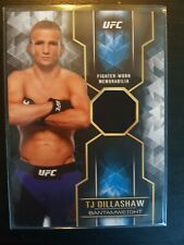 Topps ufc 2017 Knockout TJ Dillashaw Relic Numbered/99