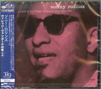 SONNY ROLLINS-A NIGHT AT THE VILLAGE VANGUARD-JAPAN UHQCD BONUS TRACK Ltd/Ed D73