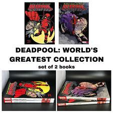 Deadpool: World's Greatest Volume 2 3 Collection Superhero Marvel Comics