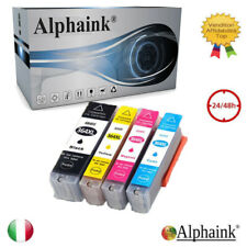 4 CARTUCCE PER HP 364 XL Photosmart 5510 5515 5520 Officejet 4620 4622 CON CHIP