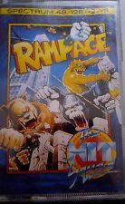 Rampage Spectrum 48/128/+2/+3 (Tape) (Game, embalaje, Manual)