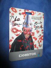 STAR WARS CELEBRATION VI Signed Exhibitor Badge by Chris Trevas/Brian Rood