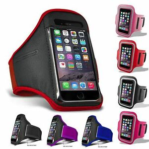 For iPhone 5C 5S SE 6 6S 7 8 11 12 XS XR Sports Running Jogging Gym Armband Case