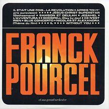 CD Franck POURCEL Amour Danse et Violons N°39  (1972) Mini LP REPLICA eurovision