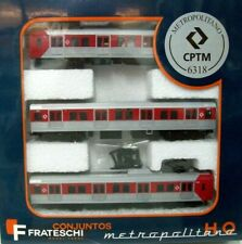 Frateschi HO 3 Car Electric Suburban Set 6318