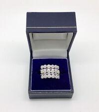 18ct White Gold Diamond Half Eternity Ring 1.0 Carat